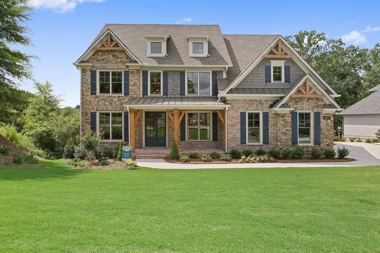 Waterstone Model Home Exterior