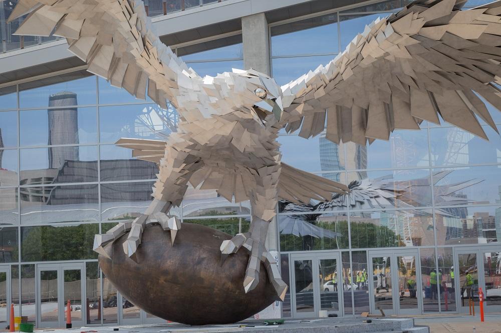 Atlanta Falcons Statue